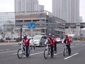 東京マラソン2015救護班画像