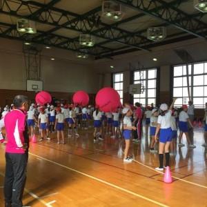 キンボールスポーツ教室
