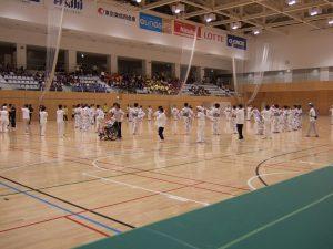 民踊連盟の方々の踊り